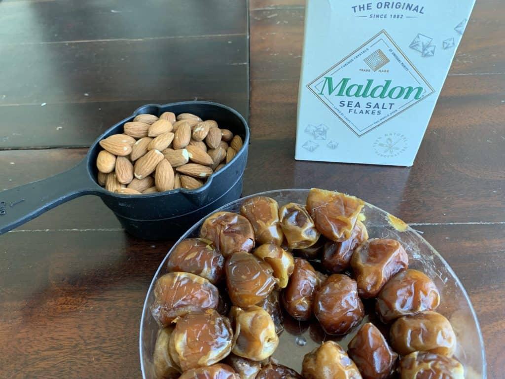 dates almonds sea salt