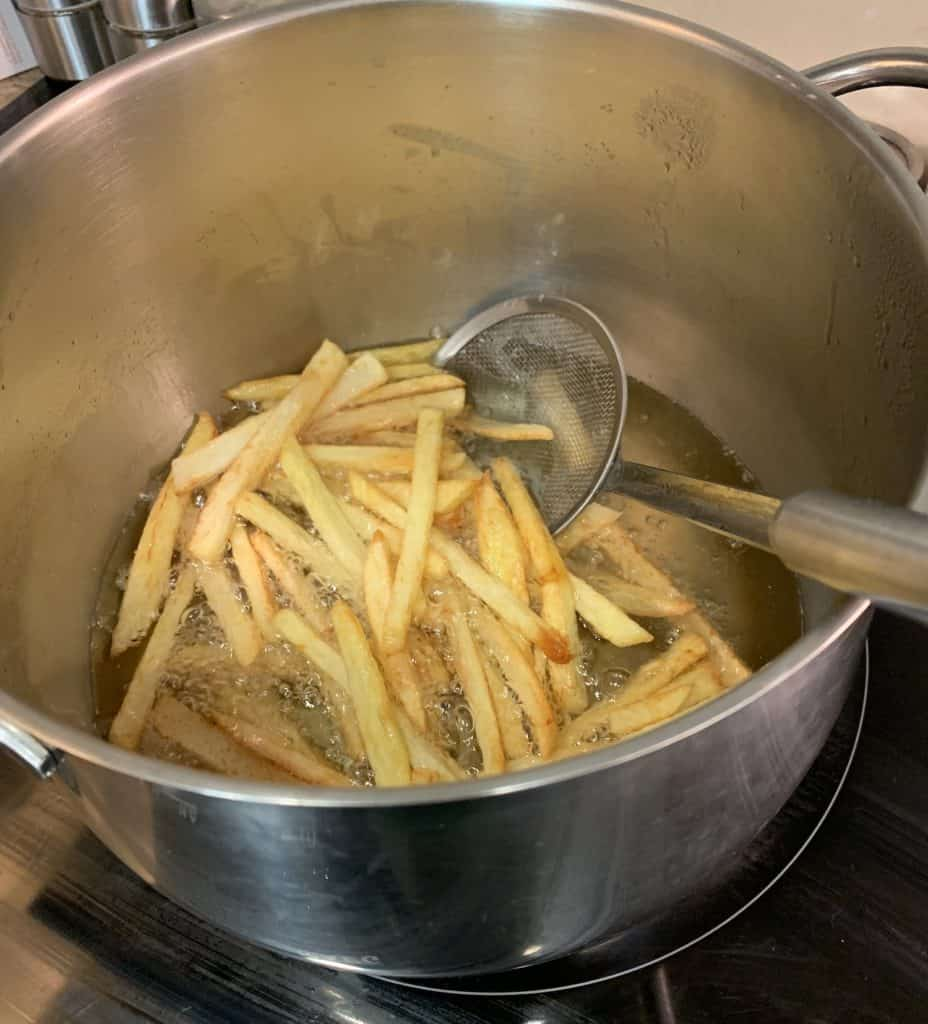 fries finished cooking