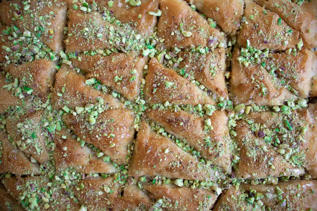 baklava recipe with pistachios