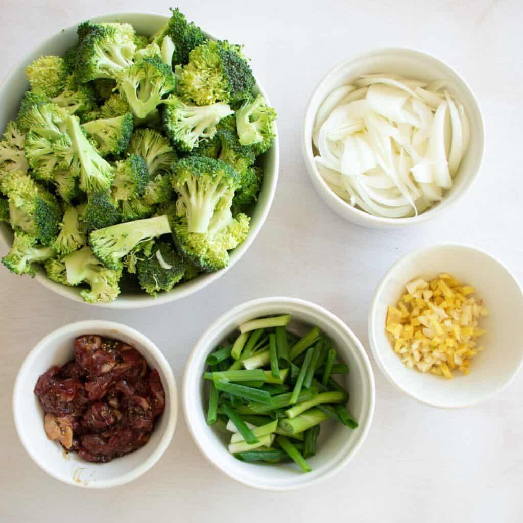beef stir fry ingredients