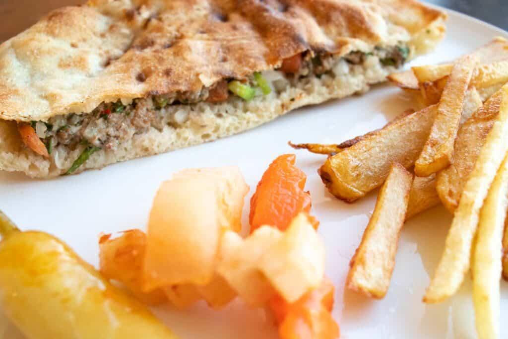 hawawshi sandwich