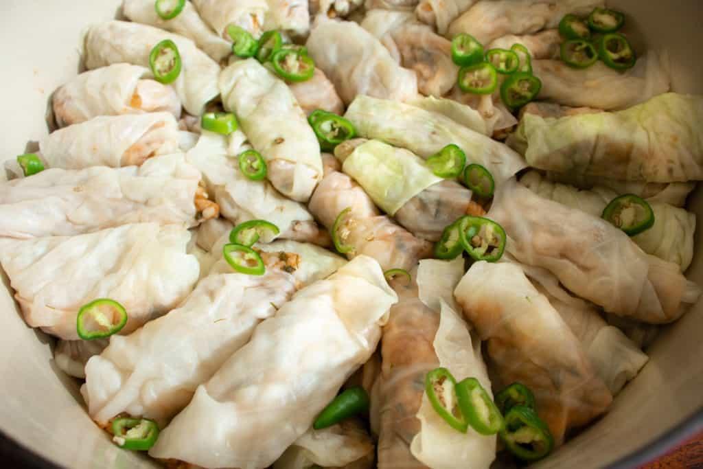 mashi recipe stuffed cabbage rolls