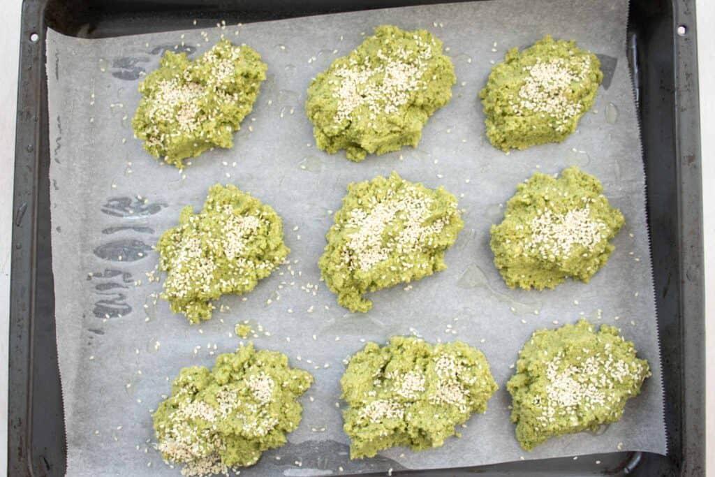 falafel with some sesame seeds