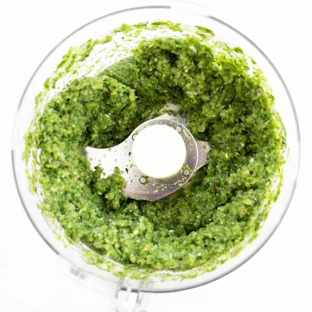blended falafel