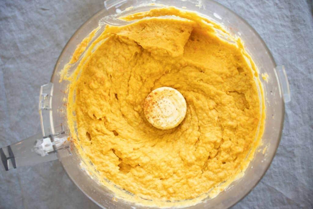 easy hummus recipe in food processor