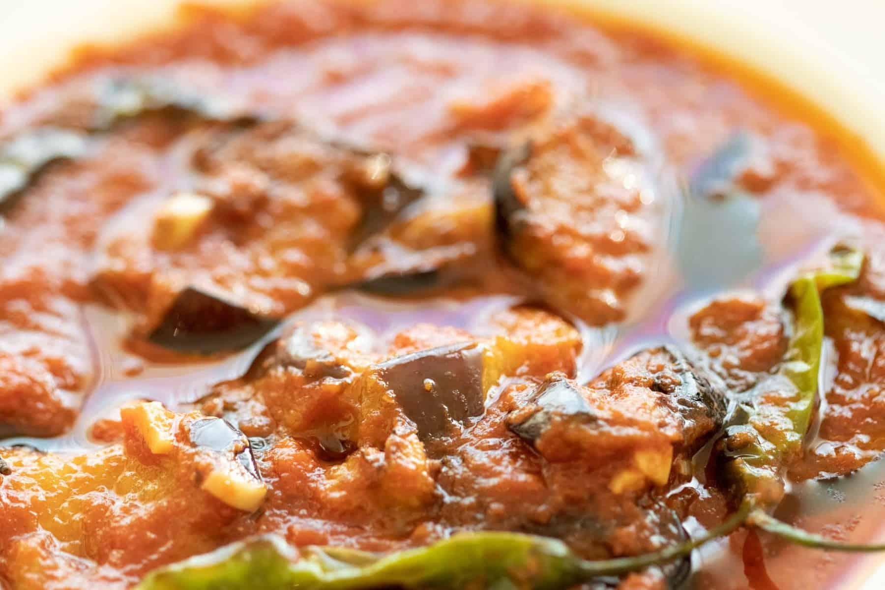 mesa'ah egyptian fried eggplant