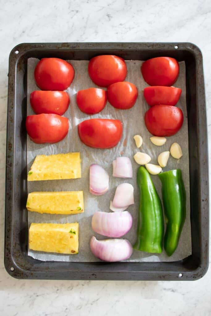 salsa recipe with pineapple