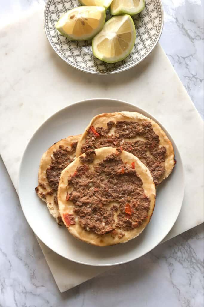 meat pie lahmajun recipe