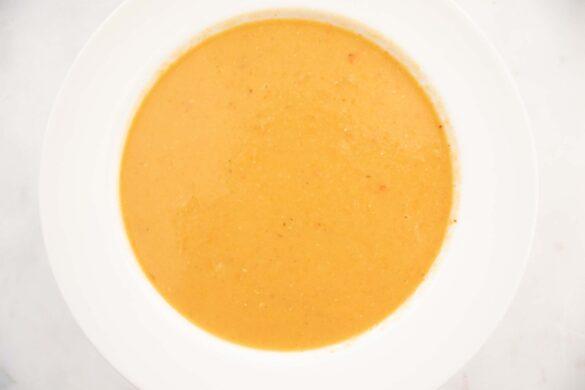 Shorbat Addas red lentil soup