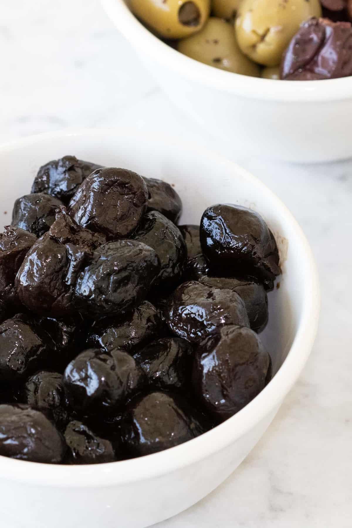 Dried Black Olives