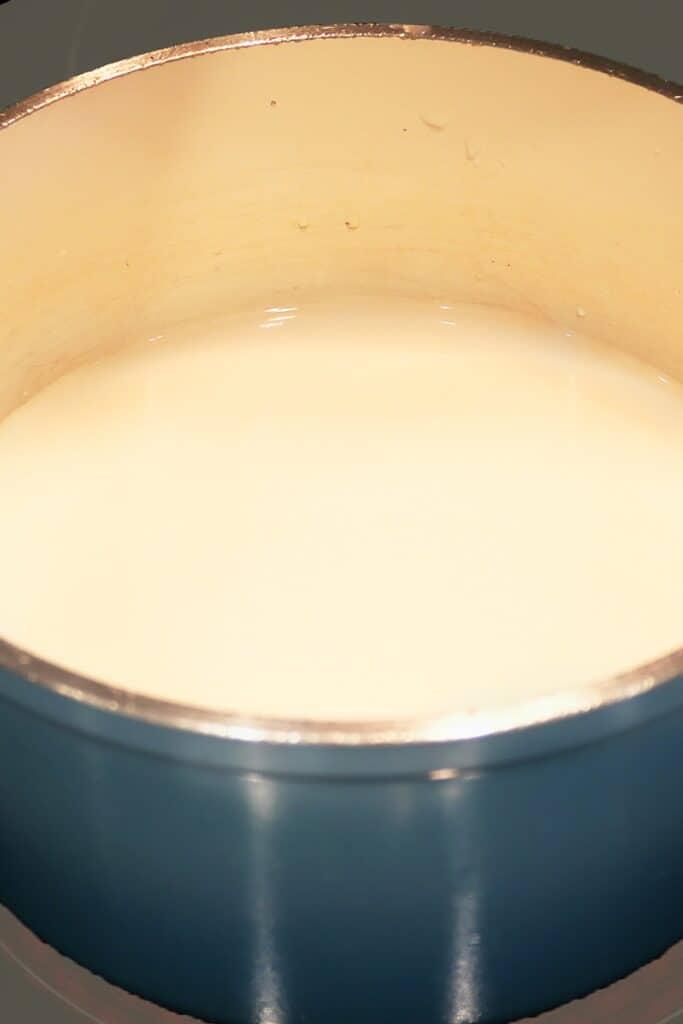 Mamouniyah Milk On Stove