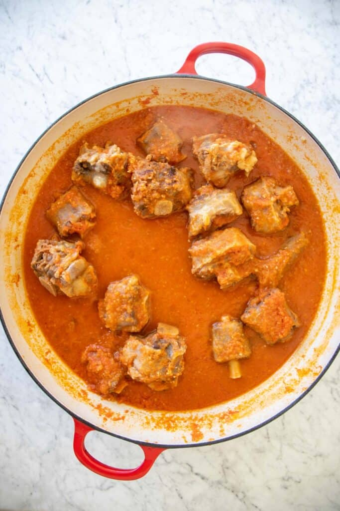 how to cook oxtail stew
