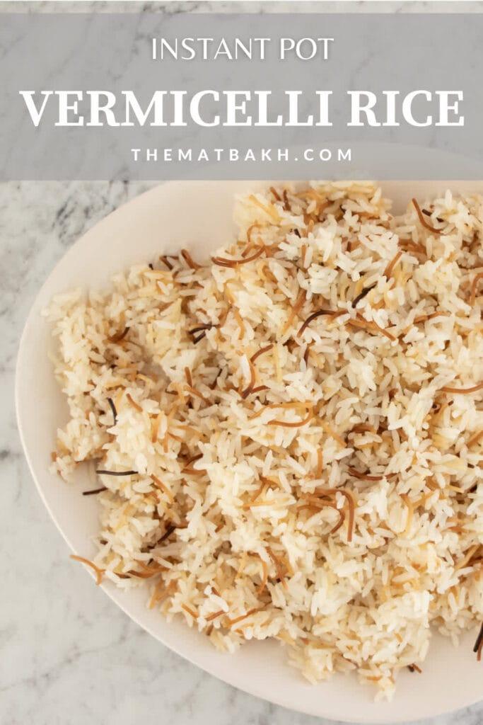 vermicelli rice