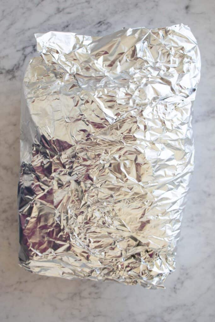 foil packet for lamb shanks
