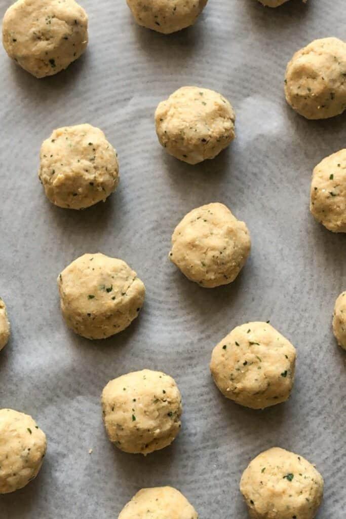 Lebanese Falafel balls