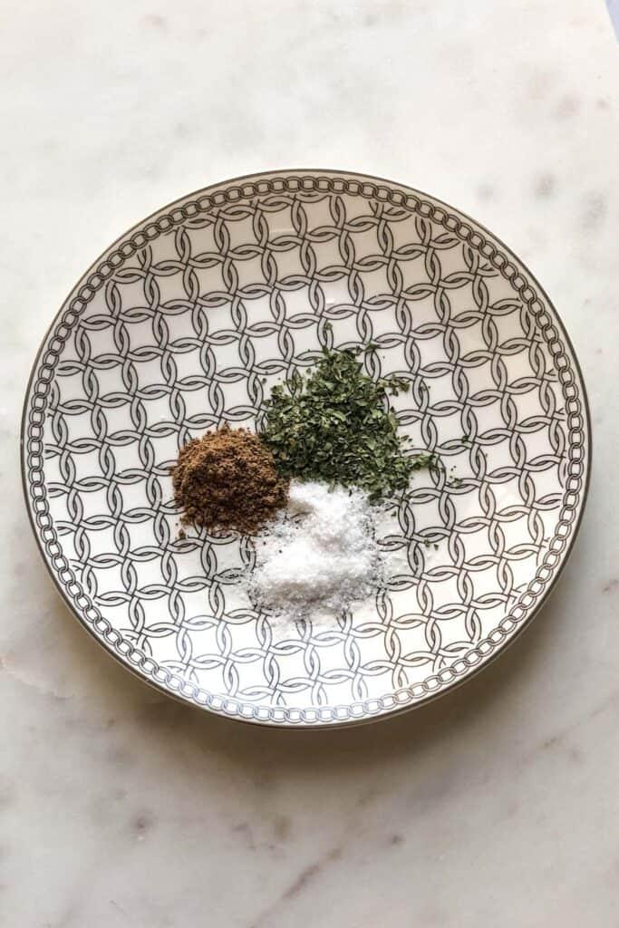 spices for falafel
