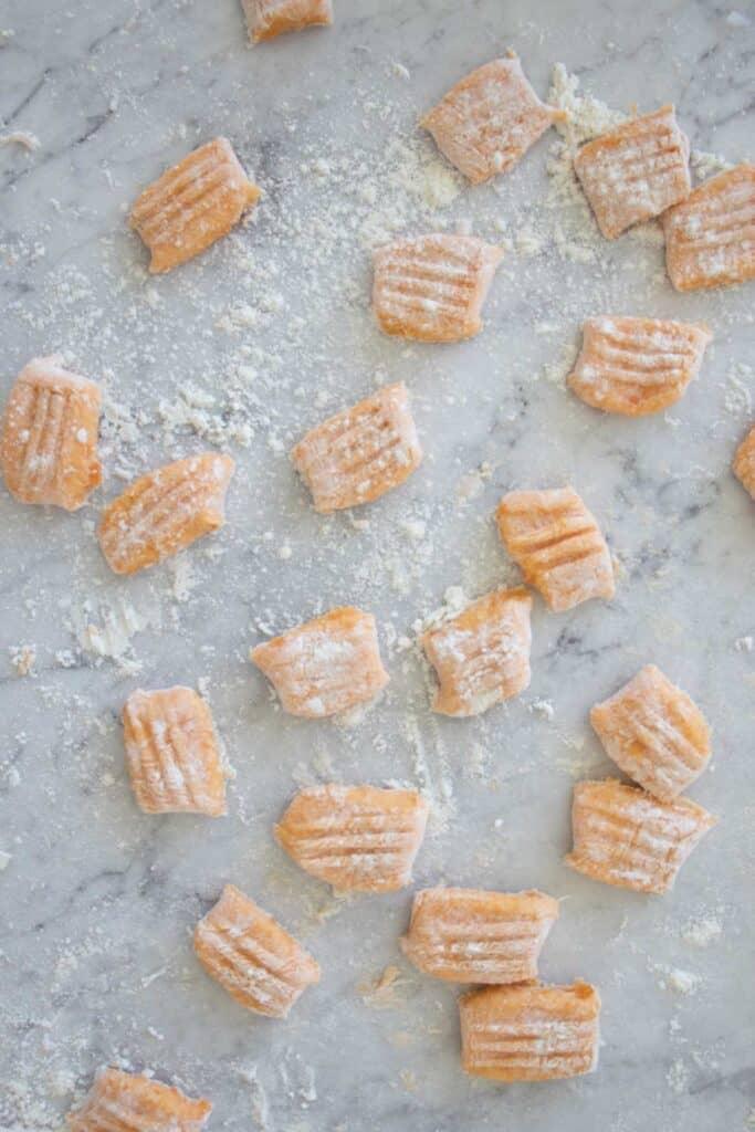 how to make sweet potato gnocchi pasta
