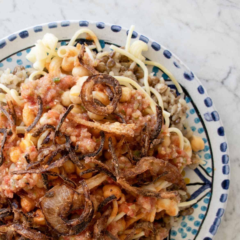 koshari vinegar sauce recipe