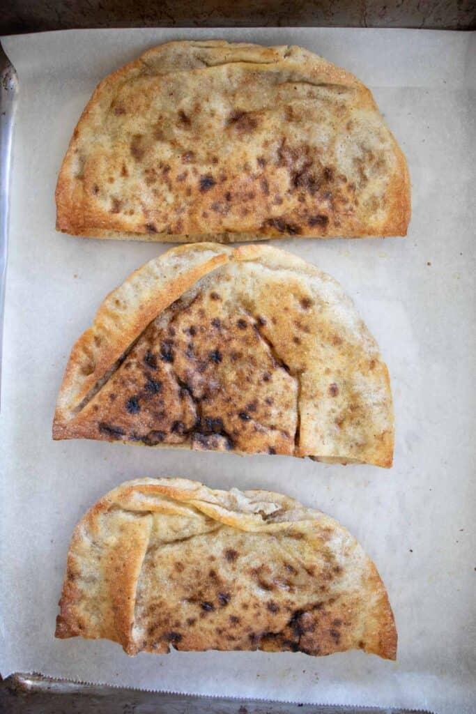 hawawshi sandwiches baked