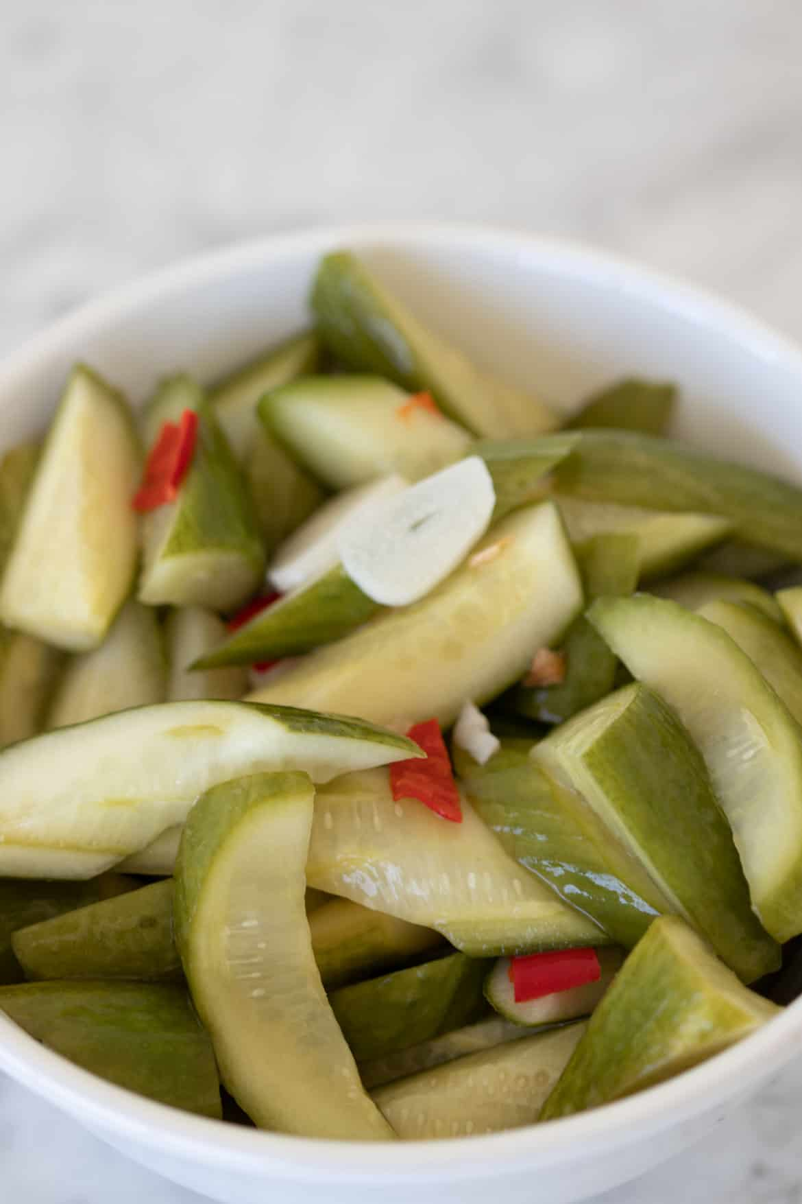 spicy pickles