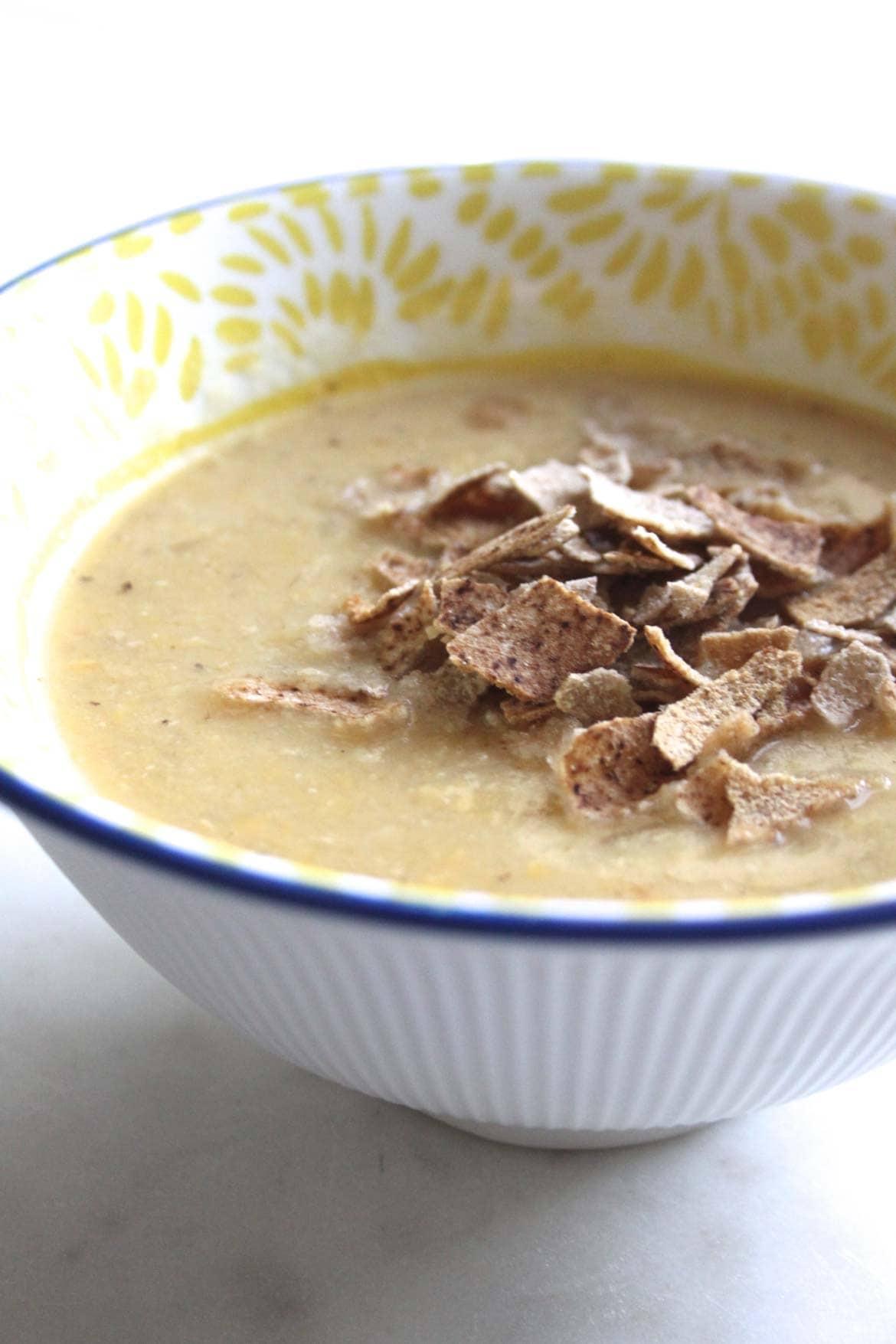 authentic lebanese red lentil soup recipe