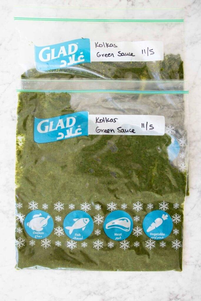 kolkas green sauce