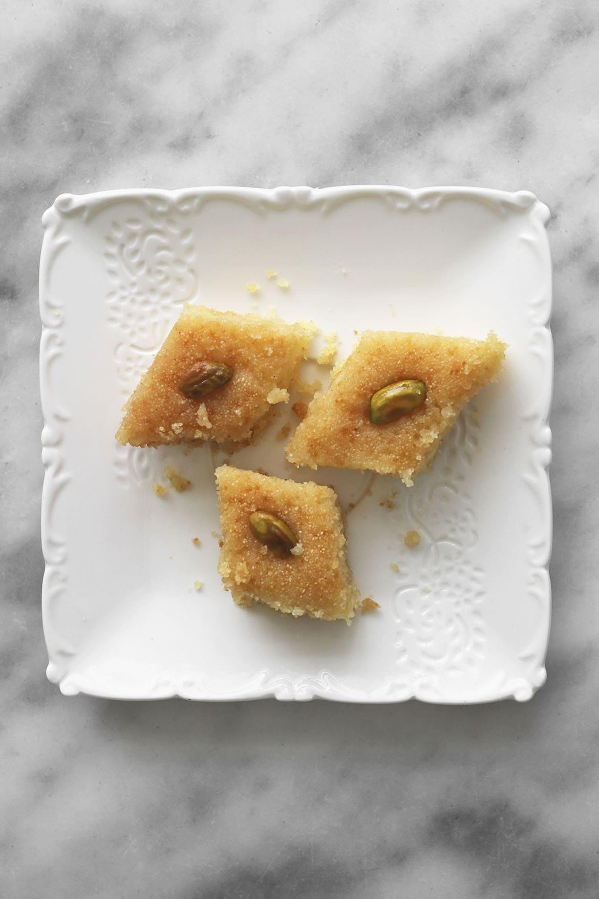 basbousa semolina cake recipe