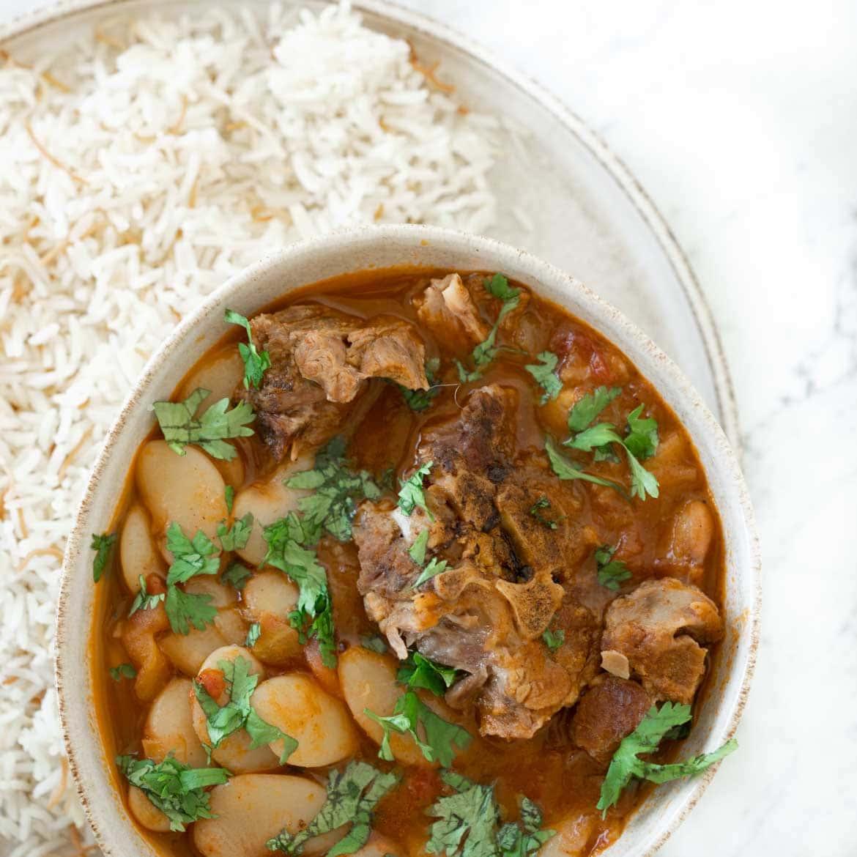 fassoulia lima beans stew