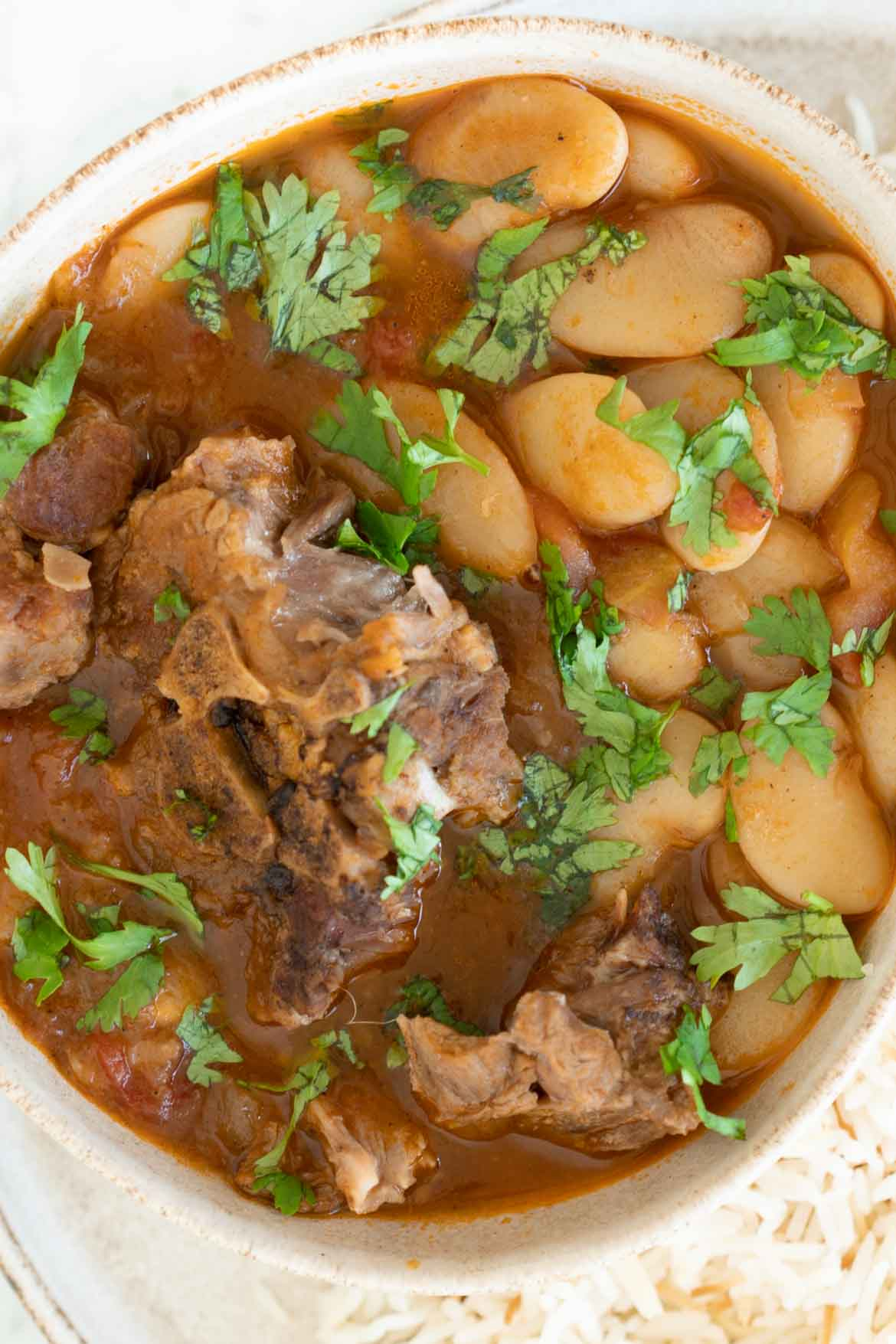 fassoulia butter beans stew