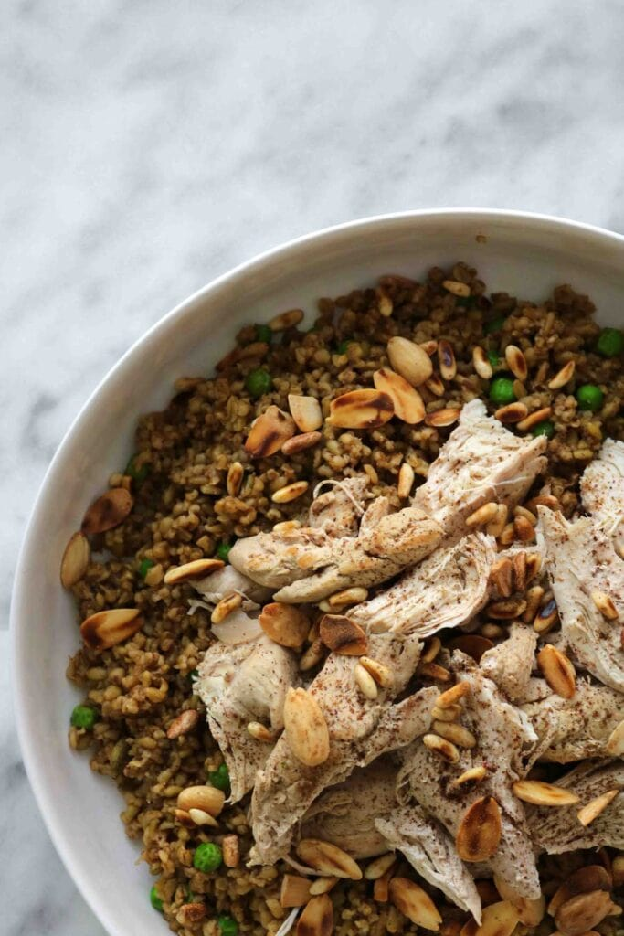 freekeh recipe with chicken