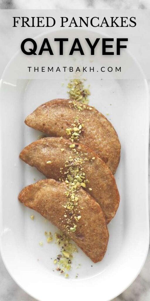 qatayef deep friend pancakes