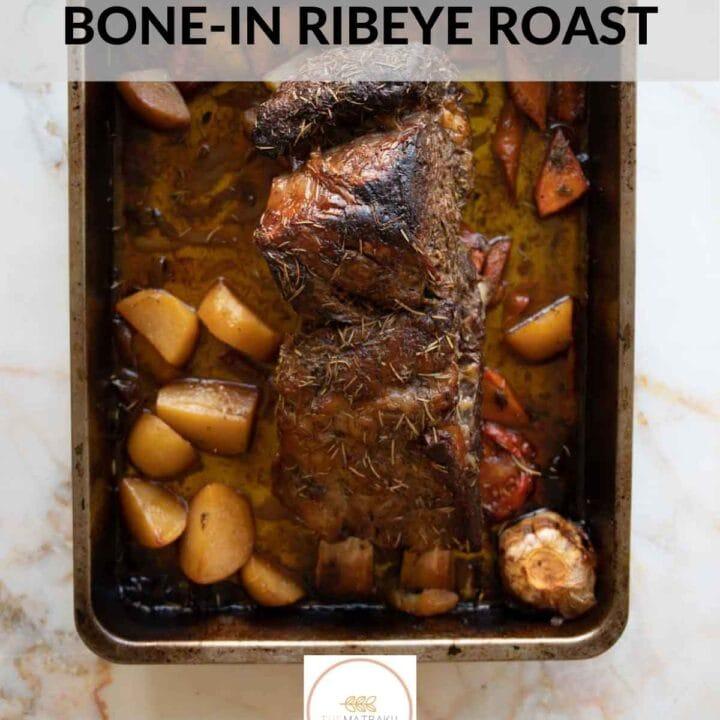 bone-in ribeye roast web story cover image