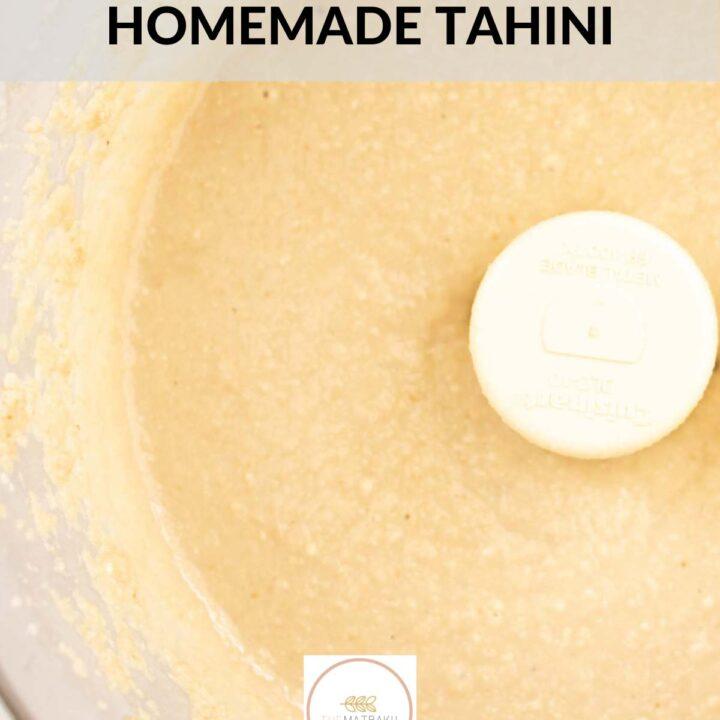 web stories homemade tahini