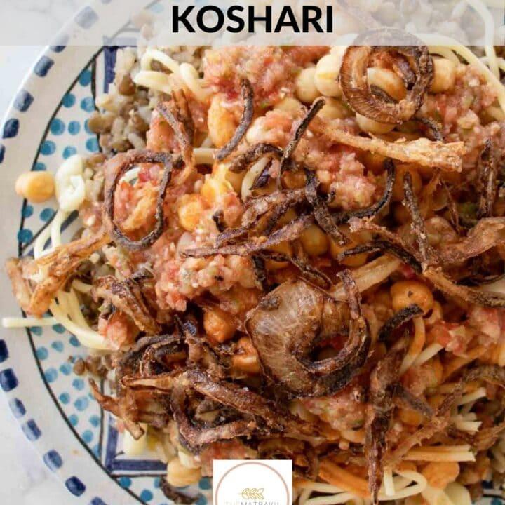 how to make koshari web story