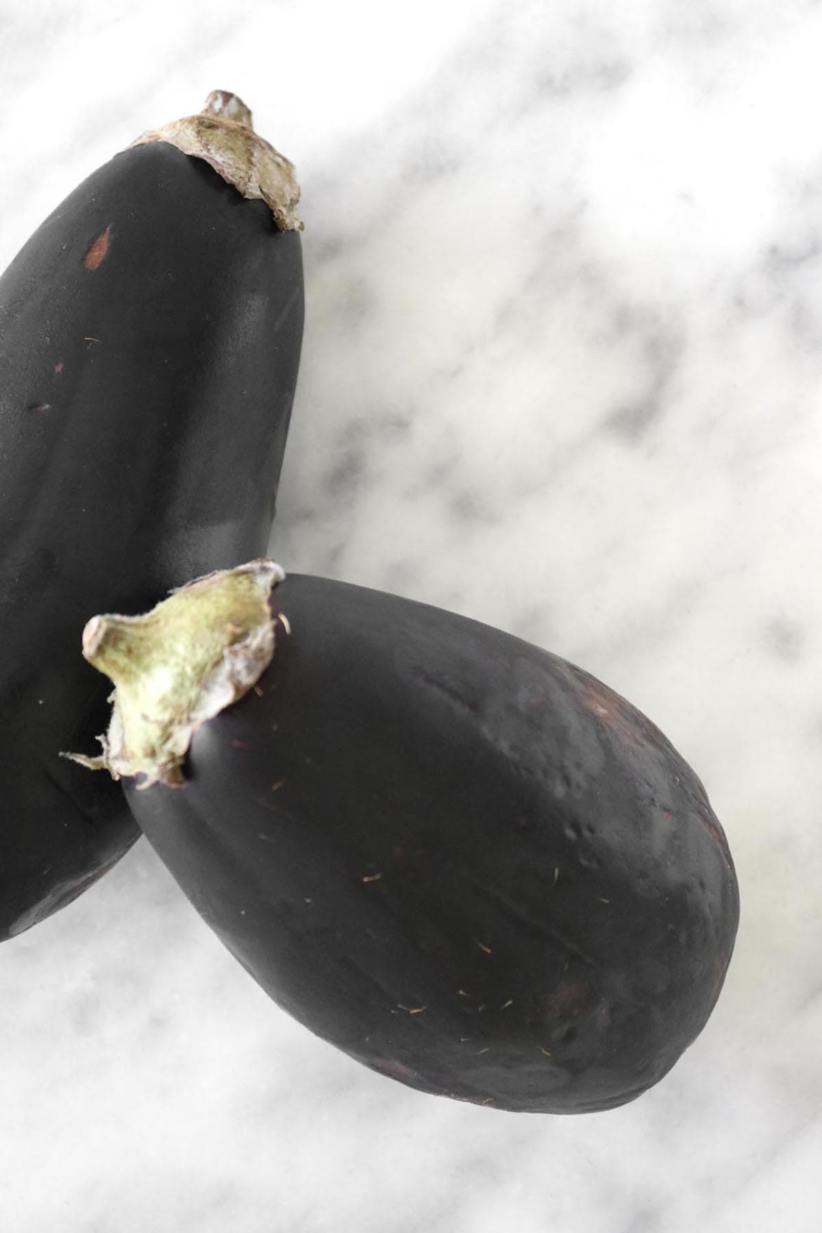 eggplant on the table top