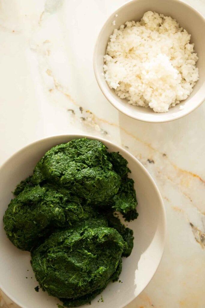 rice and blended khobiza