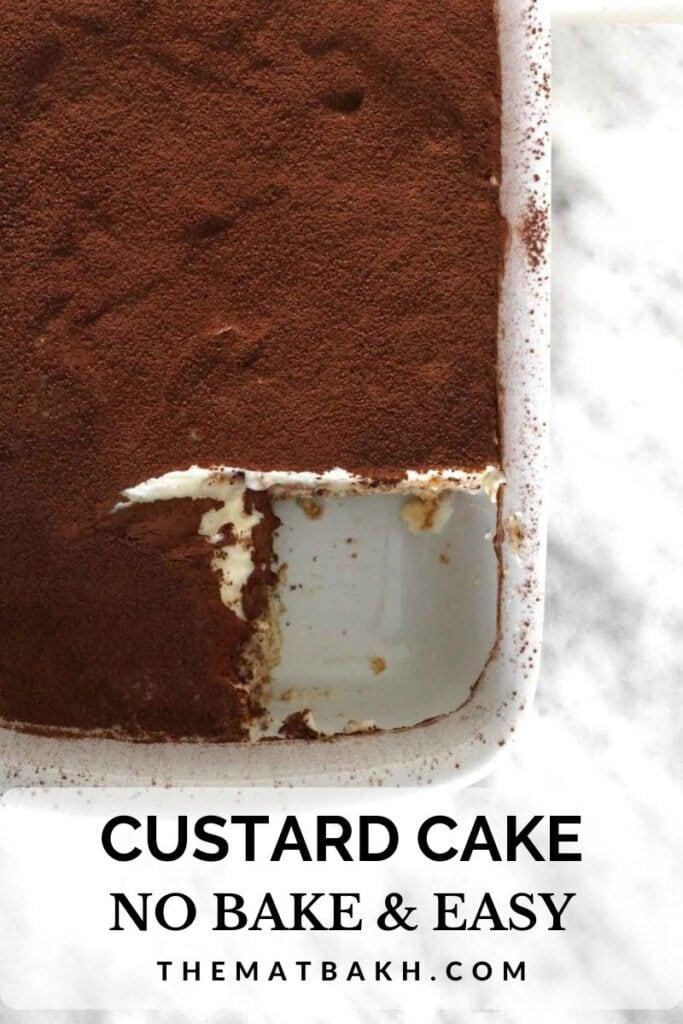 CUSTARD CAKE PINTEREST PIN
