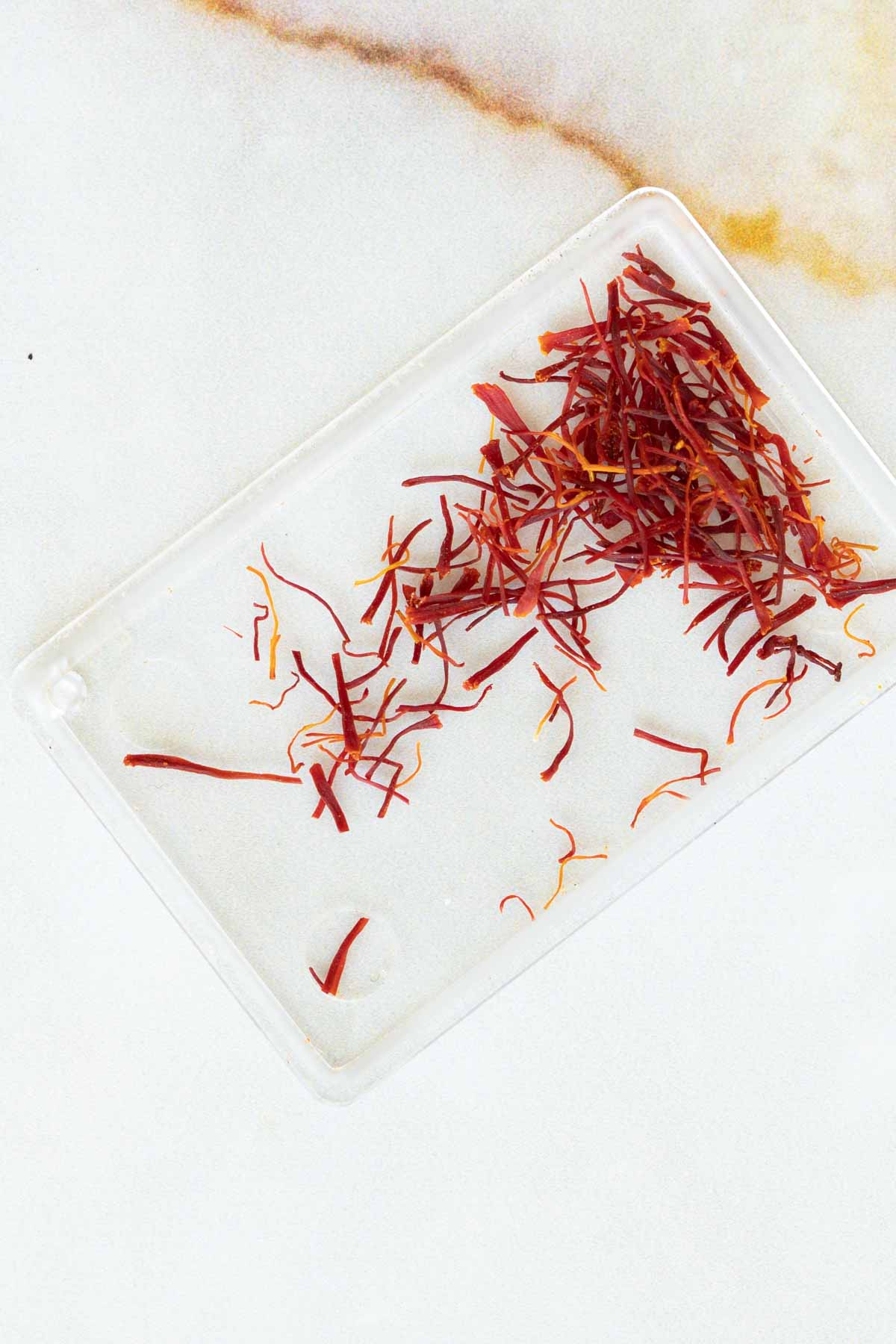 strands of saffron