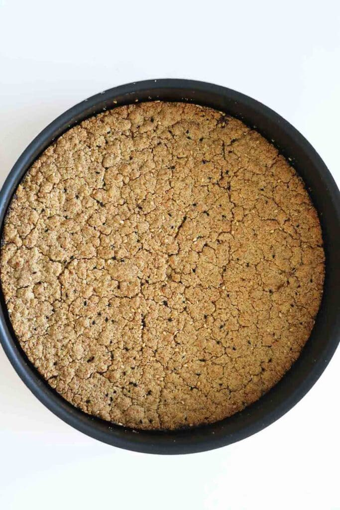 the base maamoul mixture baked in the oven