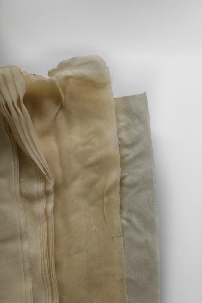 phyllo dough sheets