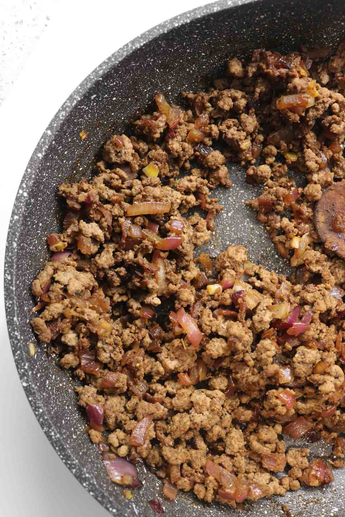 the stuffing for beef samosas