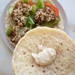 tahina yogurt falafel sauce