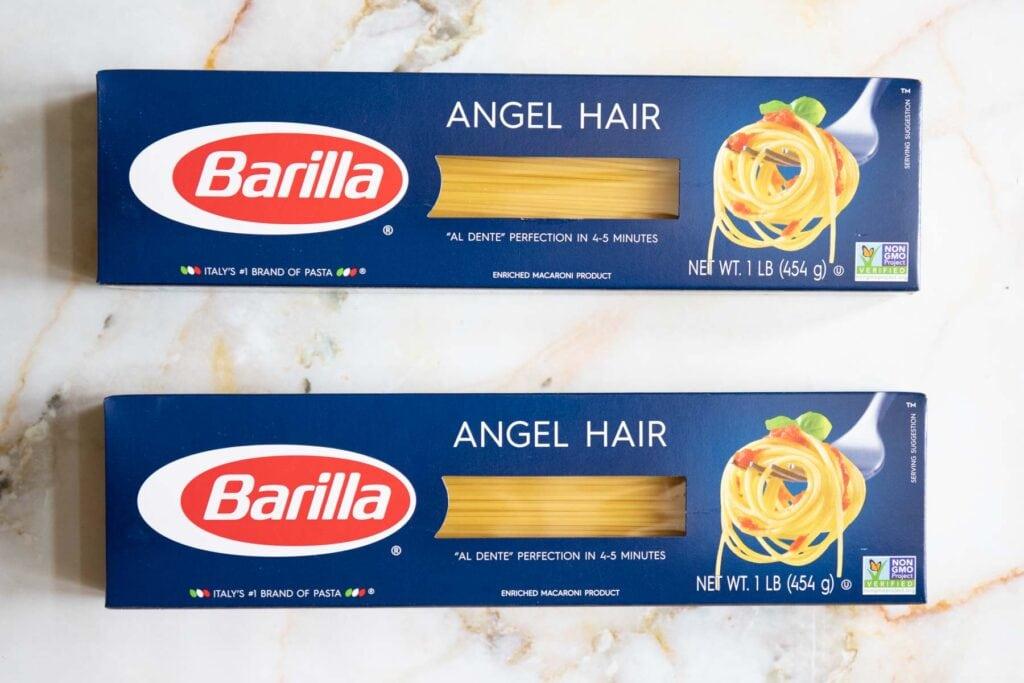 barilla angel hair pasta