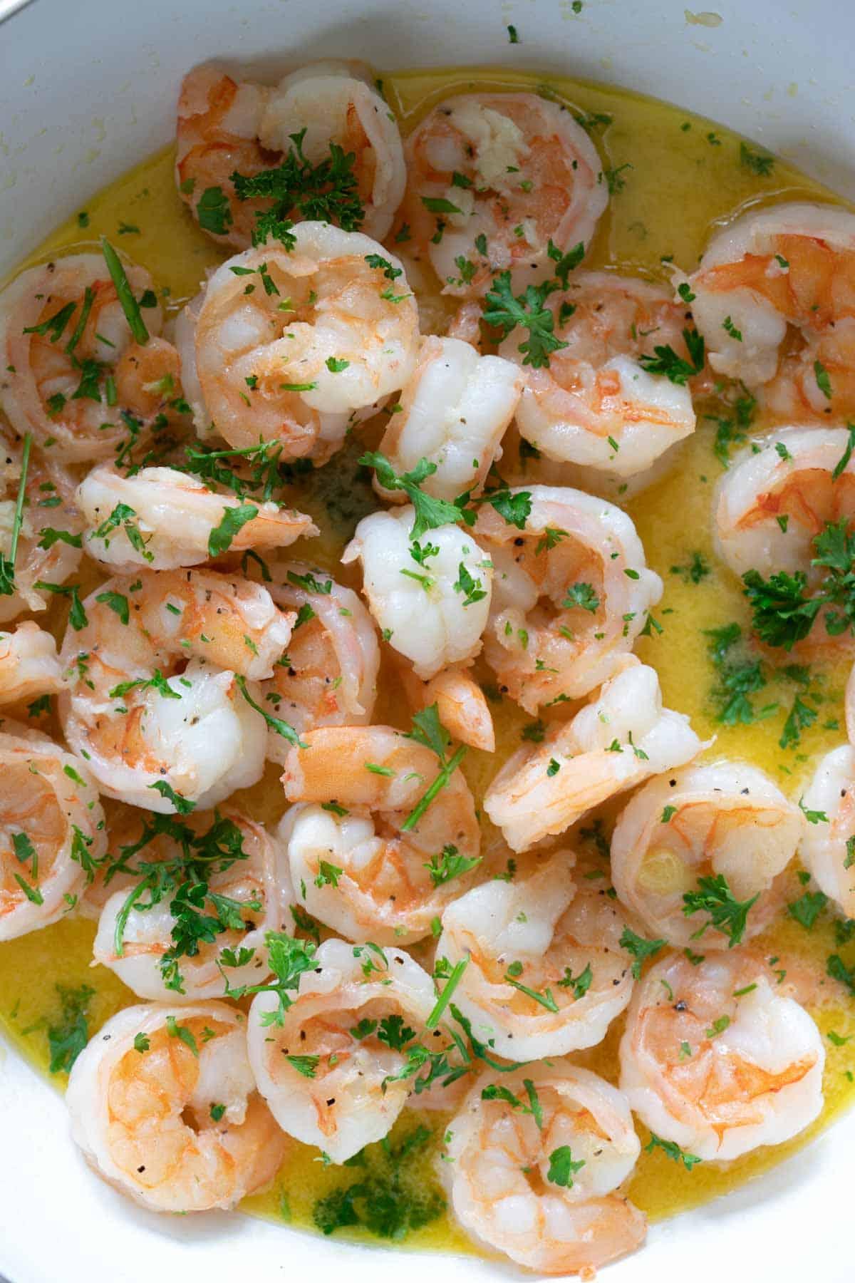 sautéed lemon butter shrimp