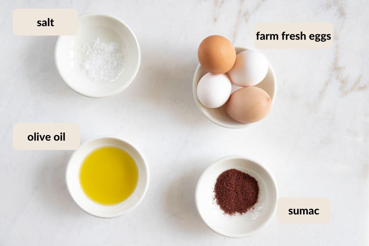 sumac egg ingredients