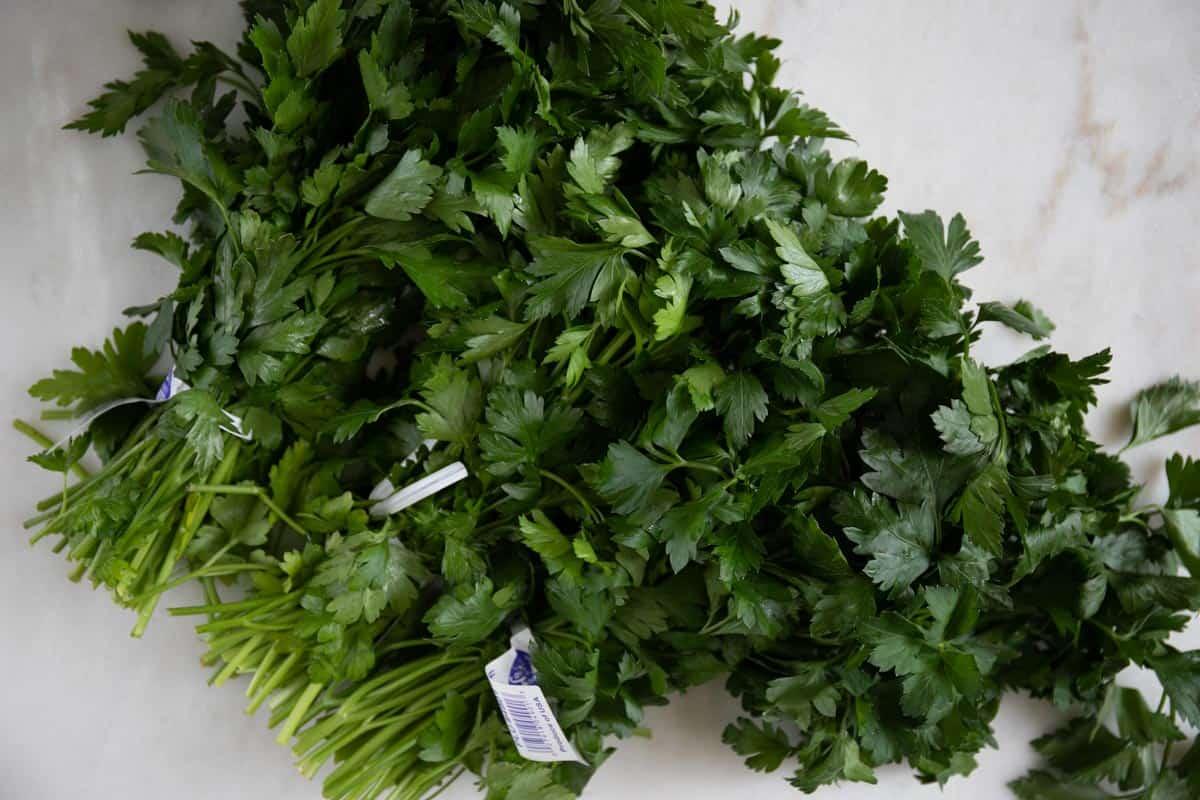Italian parsley bunches