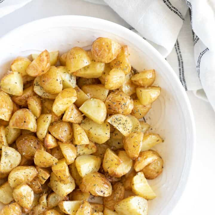 butter roasted baby potatoes