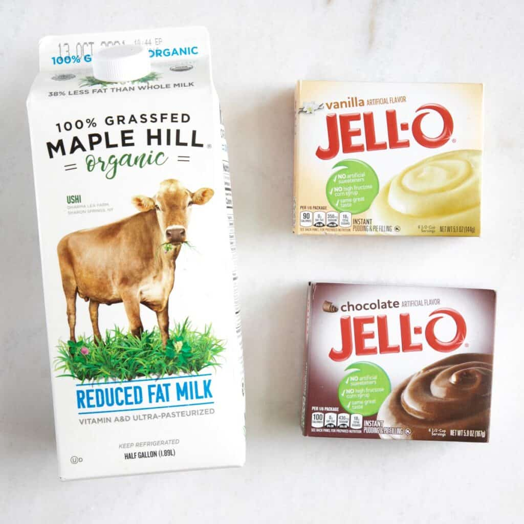 pudding layer ingredients