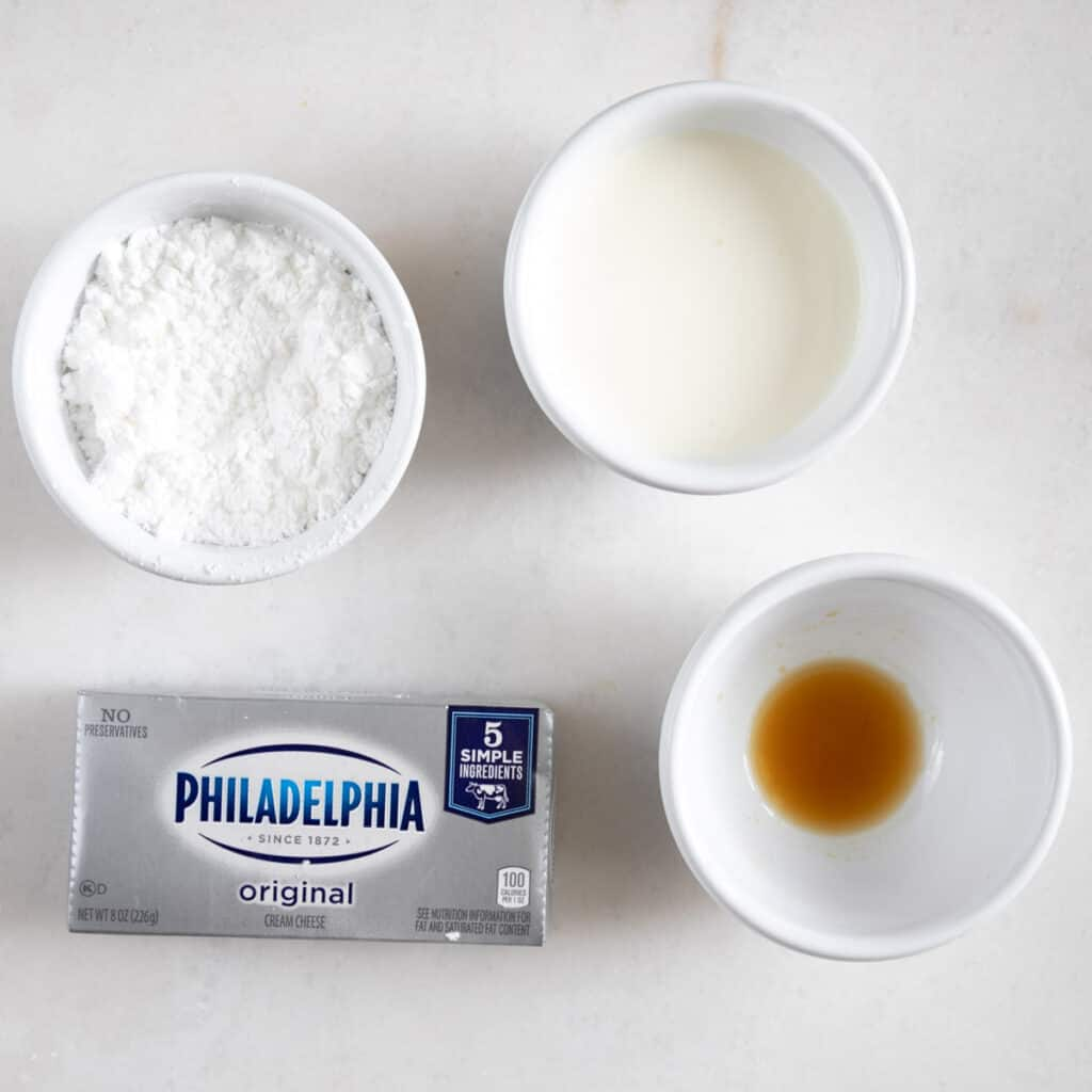 cream cheese layer ingredients