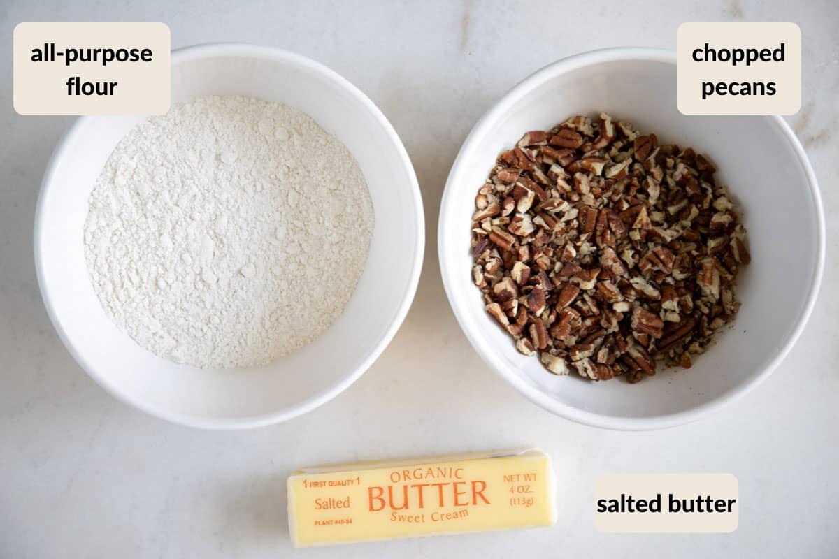 butter pecan crust ingredients